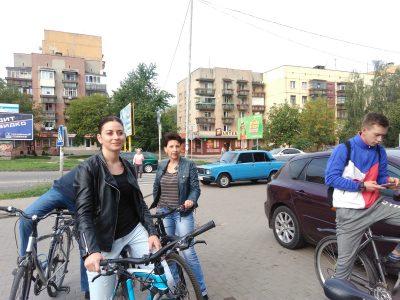 На роботу – на велосипедах вересень Чарда