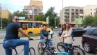 На велосипедах – на роботу ресторан Чарда