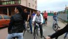 На велосипедах – на роботу Чарда вересень