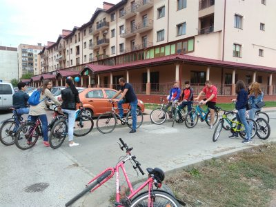 На велосипедах – на роботу вересень Чарда